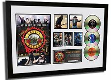 GUNS N ROSES NOT IN THIS LIFETIME TOUR SIGNED LIMITED EDITION FRAMED MEMORABILIA