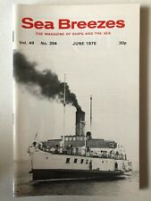 Sea Breezes Magazine June 1975 v49n354
