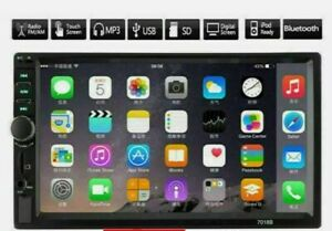 """Car stereo 7"""" touchscreen, 2Din, Backup Camera Compatibility, USB, GPS, Android"""