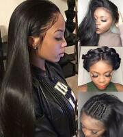 360 Lace Frontal Wig Glueless Per Plucked Brazilian Virgin Natural Hair Full Wig