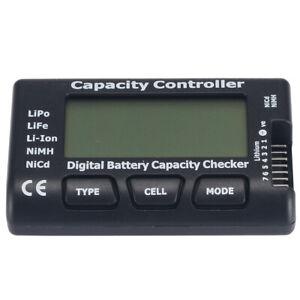 DE Digital Battery Capacity Checker RC CellMeter 7 Fr LiPo LiFe Li-ion Nicd NiMH