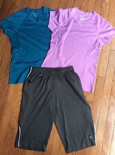 Women's Champion Double Dry  Short Sleeve Shirts and Crop ~ Small