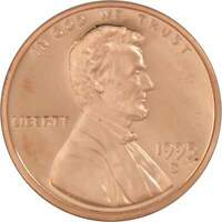 1995 S Lincoln Memorial Cent Choice Proof Penny 1c Coin Collectible