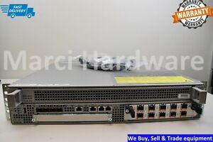 Cisco ASR1002 with ASR1000-ESP10 Dual AC Power SPA-10X1GE-V2 Warranty