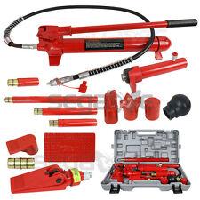 10 Ton Hydraulic Jack Pump Ram Porta Power Frame Repair Body Work Auto