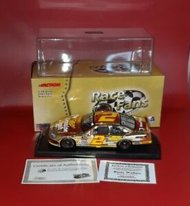 Rusty Wallace #2 Miller Genuine Draft Retro 24K Gold 2005 Charger Autographed