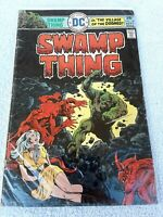 Vintage 1975 ~ DC Comics ~ SWAMP THING Village of the Doomed ~ Sept. #18
