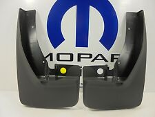 09-16 Dodge Ram 1500 2500 New Deluxe Molded Splash Guards Front Mopar 82214137