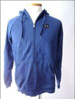 Under Armour Blue Full Zip Hoodie Jacket Mens Size L NWT