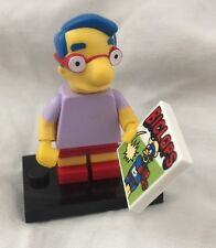 Lego Milhouse Van Houten Minifig Simpsons Series 13 #9 Bart Friend Biclops Comic