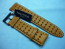 Cinturino Originale Pelle Nautica A12552G Marrone con Fibbia