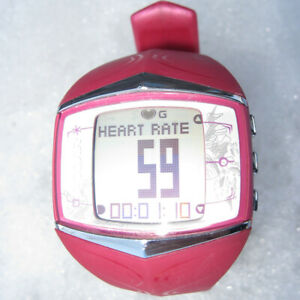 POLAR FT60 GPS Heart Rate Monitor watch only FUCHSIA ~ nice ~ FT40 FT80