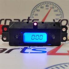 FORD FOCUS MK1 98-05 BLUE LED DIGITAL TIME CLOCK & RED ALARM LED + FREE UK POST