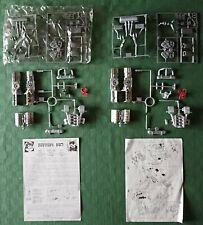 Protar Motore Ferrari F40 - DOPPIO Kit Di Montaggio In Metallo Scala 1:12