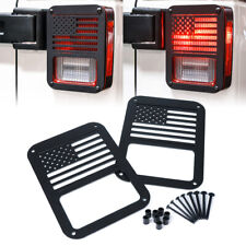 Xprite Tail Light Covers Guard Protectors For 07 18 Jeep Wrangler Jk Unlimited Fits Jeep