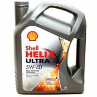 5W 40 Shell Helix Ultra Motorenöl BMW MB VW Renault Ferrari PSA FIAT 5 Liter