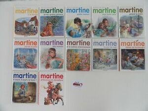 Lot 12 livres Martine - Ed. Casterman (Qté modifiable)