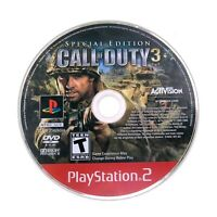 Call of Duty 3: Special Edition (Sony Playstation 2) PS2 Game DISC ONLY Tested
