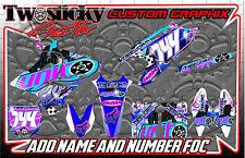 Yamaha YZF YZ 125/150/250/450 Motocross MX Gráficos Pegatinas RE. todos los años