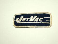 Vintage 1960s JetVac Appliances Service Cloth Patch New NOS Vacuum