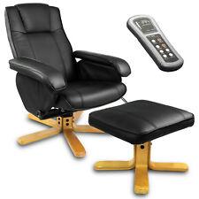 TV Massagesessel Relaxsessel Bürosessel Fernsehsessel mit Hocker Sofotel