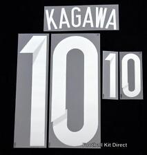 Japan Kagawa 10 2014 Football Shirt Name/Number Set Kit Home Sporting ID