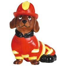 Westland Hot Diggity Dog Fireman Doxie/Dachshund Figurine #17974 **NIB**