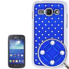 Bling Diamond Hardcase für Samsung S7272 Galaxy Ace 3 in blau Tasche Hülle Etui
