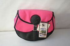 """DULUTH PACK #100 DELUXE SHELL BAG B-111-PNK PINK 8"""" H x 11"""" W x 2"""" D"""
