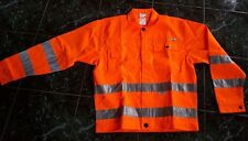 Planam Bundjacke  uni Warnschutz Scotchlite ,2002 ,orange Gr. 52