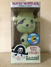 FUNKO HAPPY TREE FRIENDS RUSSEL WACKY WOBBLER BOBBLE HEAD SDCC 2007 1OF240 NEW