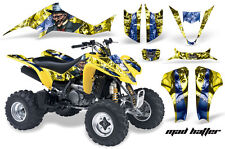ATV Decal Graphic Kit Wrap For Suzuki LTZ400 Kawasaki KFX400 2003-2008 MAD U Y