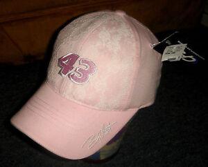 BOBBY LABONTE girls baseball hat NASCAR #43 pink NEW