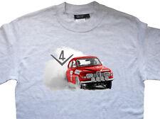 Saab 96 V4 Rally T-Shirt Camiseta Stig Blomqvist Per Eklund estilo vintage y retro clásico