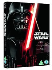 STAR WARS Trilogy Episode 4 5 6 DVD New Hope Empire Strikes Back Return of Jedi
