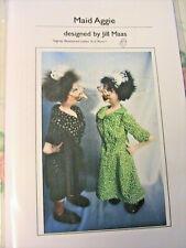 "Cloth Art Doll Pattern /""Irene Mary/"" By Jill Maas"
