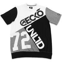 ECKO UNLTD. AUTHENTIC MEN'S WHITE BLACK CREW NECK SHORT SLEEVE T-SHIRT SIZE M