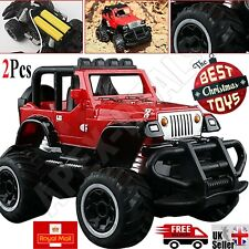 2x RC Jeep Off-road vehicle Remote Control Mini Toy Car Baby Gift Radio For Kids