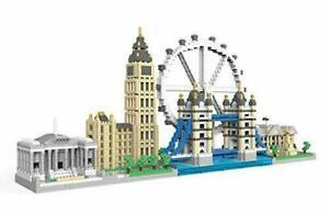 dOvOb Architecture London Skyline Micro Mini Blocks Set Model Kit NO. QS001 3076