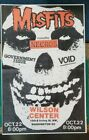 MISFITS, NECROS, GOVERNMENT ISSUE,Void Punk Flyer Print 11x17