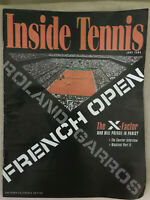 New Inside Tennis Magazine French Open Roland Garros June 2005 Collectible Issue