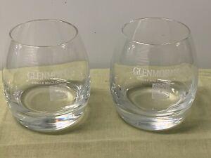 GLENMORANGIE, SINGLE MALT SCOTCH WHISKY, GLASSES  (2)