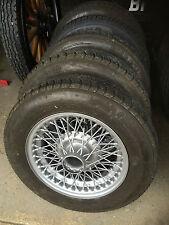 MG Midget Wire Wheels Silver -  TUDOR WHEELS  CLASSIC WHEEL REFURBISHMENT