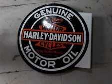 Harley Davidson Porcelain sign 24 inches