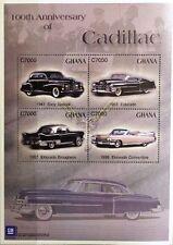 Ghana 2003 3565-68 bloc 452 Cadillac automobile vintage CARS voitures Eldorado MNH