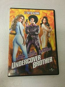 DVD UNDERCOVER BROTHER GRIFFIN KATTAN RICHARDS Come Nuovo (R)