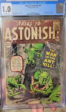 Tales To Astonish 27 CGC 1.0 Kirby Ditko Lee First Ant Man! 🐜 🐜 🐜