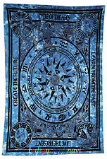 Traditional Cotton Live The Present Ethnic Wall Hanging Throw Beach Mat Tapestry