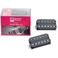 Seymour Duncan Vintage Blues '59 Guitar Pickup Set SH1-B SH1-N Black Neck Bridge