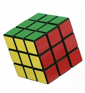 Kids Fun Rubiks style speed cube Toy  Game Classic Magic Rubic Puzzle Presents